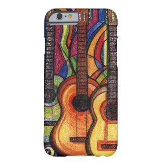 Tre gitarrer barely there iPhone 6 skal