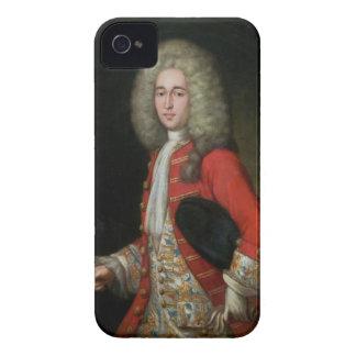 Tre-Inkvartera längdporträtt av en gentleman Weari Case-Mate iPhone 4 Case