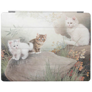 Tre kattungar iPad skydd