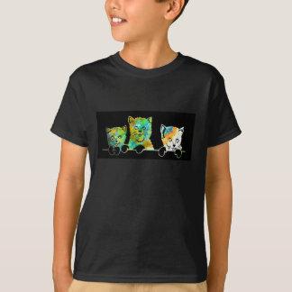 Tre lite kattungar t-shirt