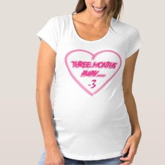 Tre mounths bort…., moderskapt-skjorta tröjor