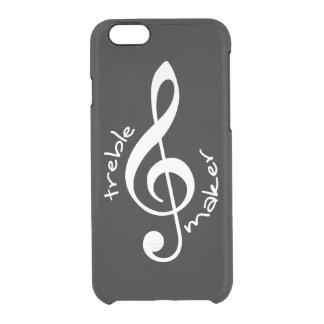 Trebletillverkareiphone case clear iPhone 6/6S skal