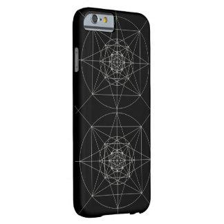 Tredje dimensionella sakrala geometri barely there iPhone 6 skal