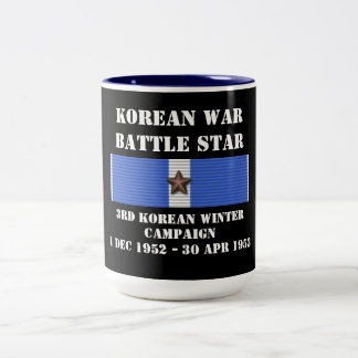 Tredje koreanska vinterkampanj kaffe mugg
