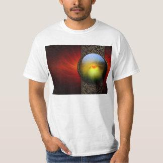 Tredje ögaFractal för magi Tshirts