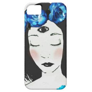 Tredje ro för ögaChakra blått iPhone 5 Hud