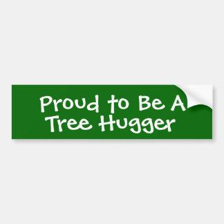 Tree hugger bildekal