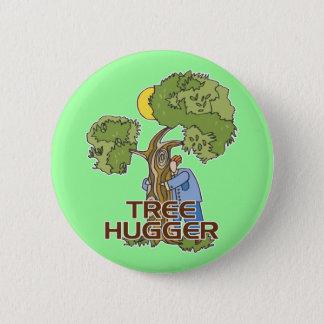 Tree hugger standard knapp rund 5.7 cm