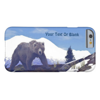 Treeline Grizzly Barely There iPhone 6 Fodral