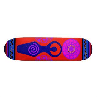 Trefaldig gudinnaSkateboard för VooDoo Skateboard Bräda 21,5 Cm