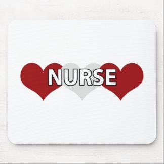 Trefaldig hjärta för sjuksköterska musmatta