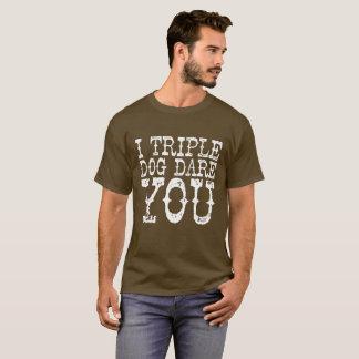 """""""Trefaldig hundutmaning """", T-shirts"""