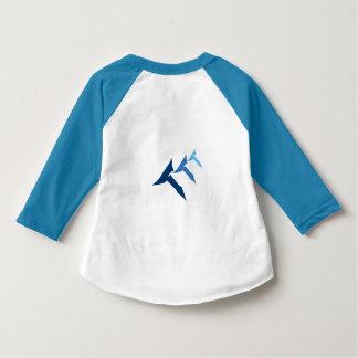 Trefaldig Raglan för sanning för T-blåttsmåbarn T-shirts
