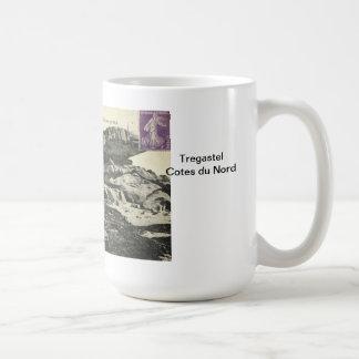 Tregastel Cotes du Nord Kaffemugg