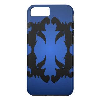 Trendig för mode för krusidull 3D för blått svart