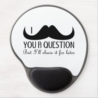 Trendig och coola mig mustasch dig en ifrågasätta gelé musmatta