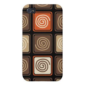 Trendigabstrakt - kaffe iPhone 4 fodral