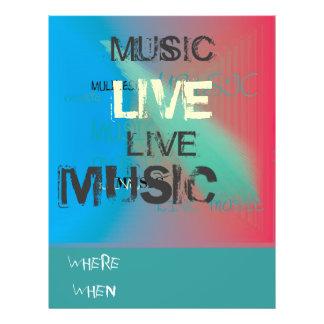 Trendiget bor Music>Flyer Reklamblad 21,5 X 30 Cm