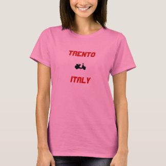 Trento italiensparkcykel t-shirts