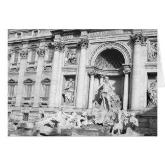 Trevi-fontän i Rome Hälsningskort