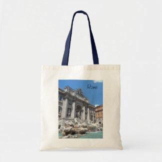 Trevi-Fontän Rome Tygkasse