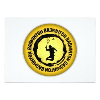 Trevlig Badminton förseglar 12,7 X 17,8 Cm Inbjudningskort