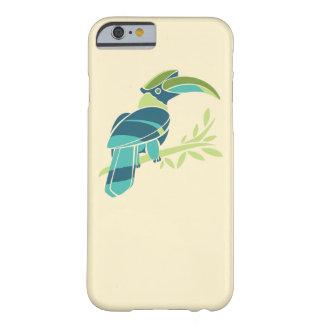 Trevlig fågelillustration för iphone case barely there iPhone 6 fodral