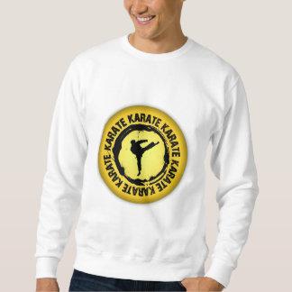 Trevlig Karate förseglar Lång Ärmad Tröja