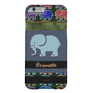 trevliga elefanter barely there iPhone 6 skal