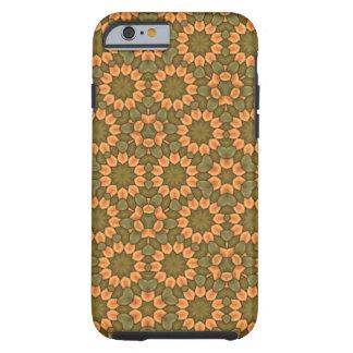 Trevligt blommamönster tough iPhone 6 case