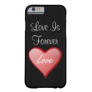 Trevligt och älska fodral barely there iPhone 6 fodral
