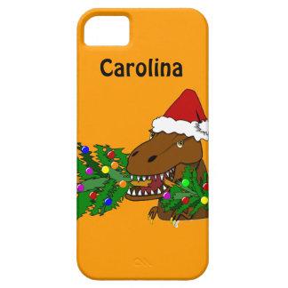Trex Dinosaur som äter beställnings- iphone 5 för Barely There iPhone 5 Fodral