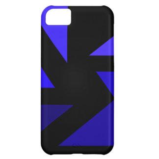 Tri 3 blått - CricketDiane abstrakt PopArt iPhone 5C Fodral