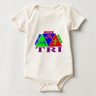 TRI design för PYRAMID för springa för Body För Baby