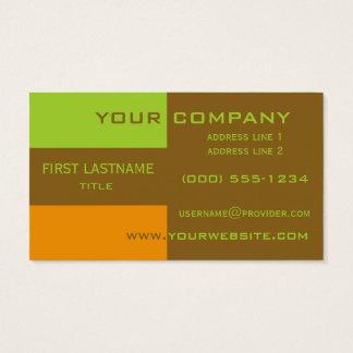 Tri-färg görar randig beställnings- visitkortar visitkort