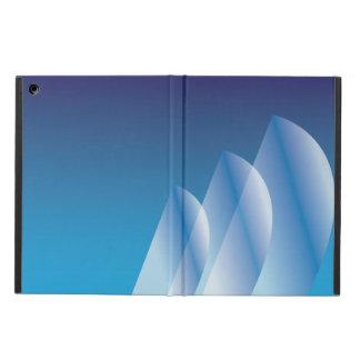 Tri-Segla genomskinlig blå himmel iPad Air Fodral