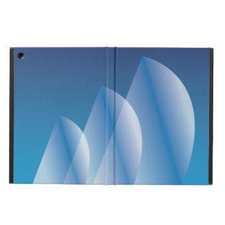 Tri-Segla genomskinlig blå himmel iPad Air Skydd