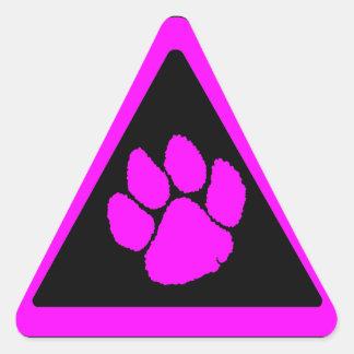 Triangel för klo för tiger för Corey tiger80-tal