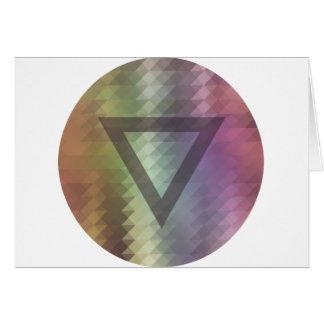 Triangel Hälsningskort