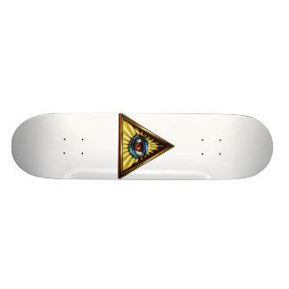 Triangel med ögaögat av Providence Old School Skateboard Bräda 21,6 Cm