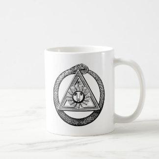 Triangelfrimurareorm Kaffemugg