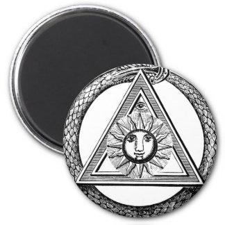 Triangelfrimurareorm Magnet