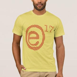 trianglar e17 (löstagbar logotyp) tee shirt