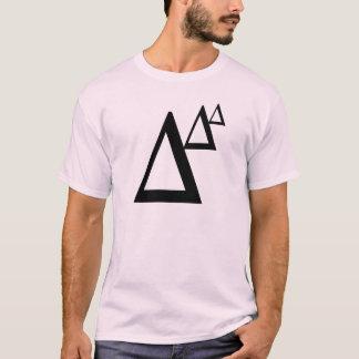 trianglar tee shirts