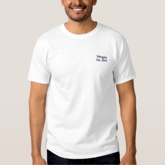 Tribagels broderade T Broderad T-shirt