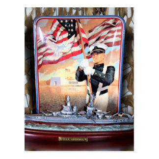 Tribute för USS Arizona Vykort