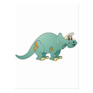 Triceratop Aquatecknad Vykort