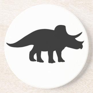 TriceratopsDinosaur. Underlägg Sandsten