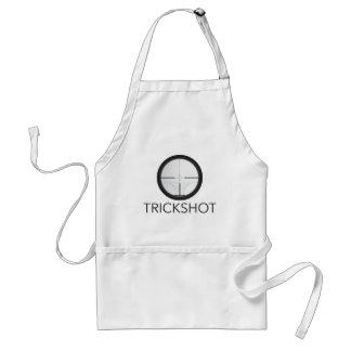 Trickshot räckvidd förkläde