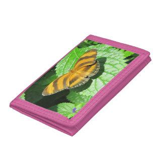 Trifold plånbok för fjäril